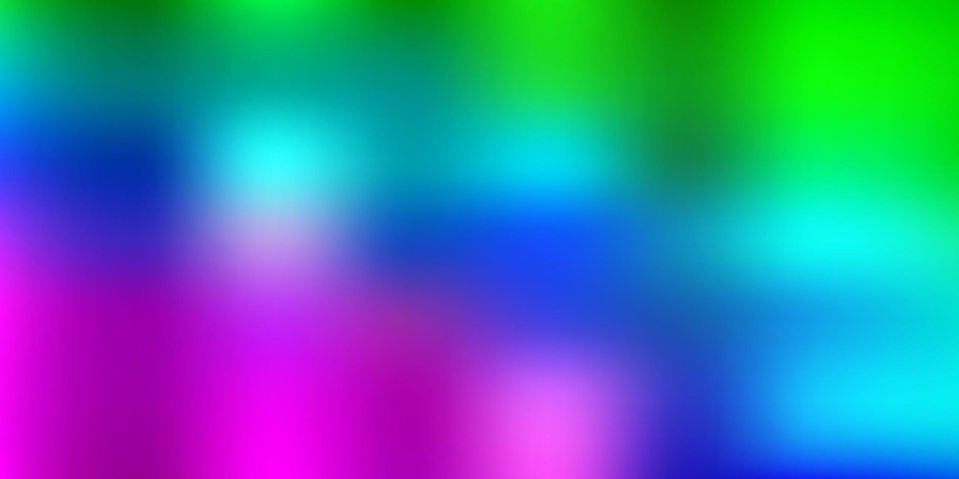 ljus flerfärgad vektor suddig mall.