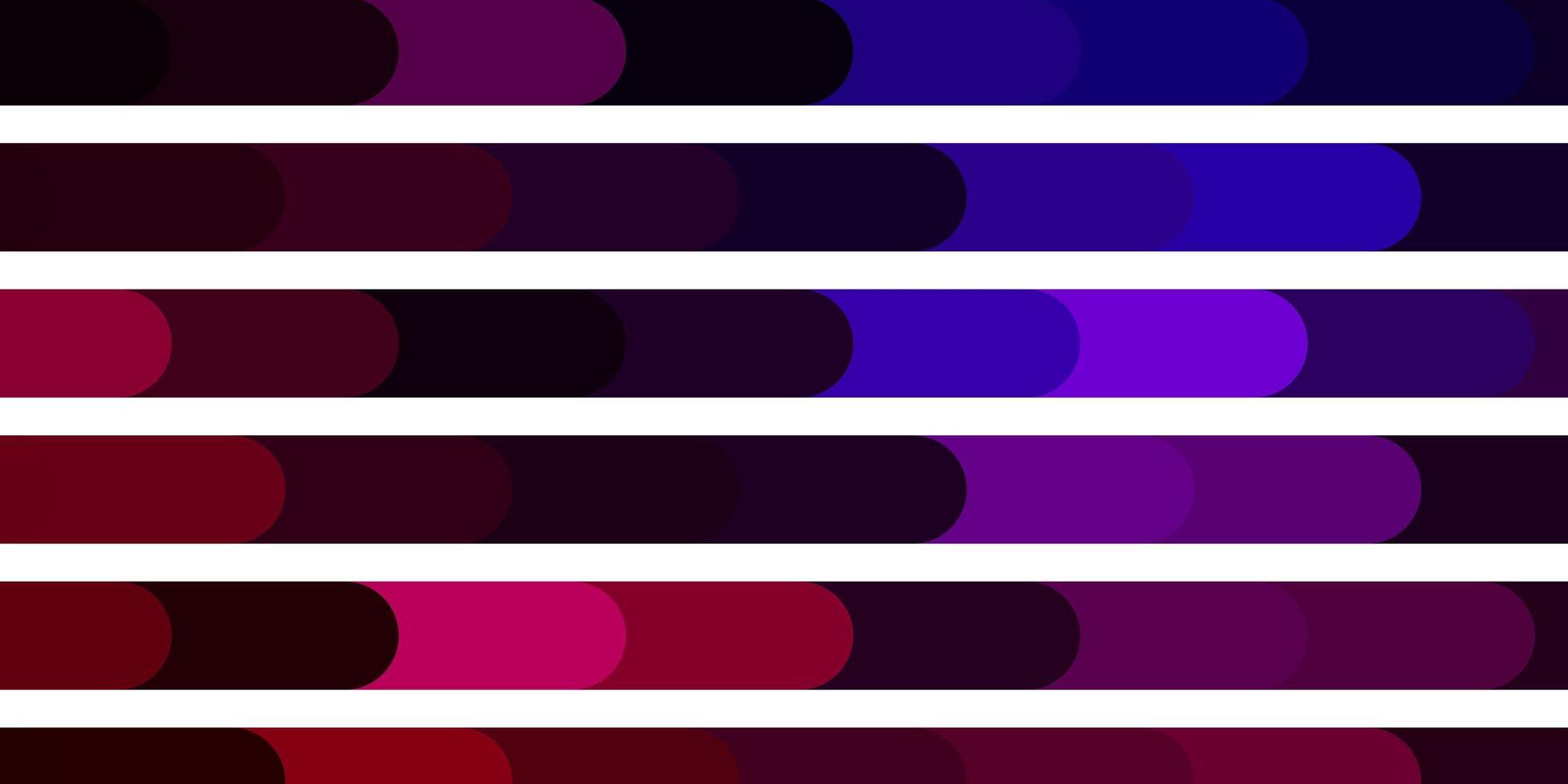 dunkelrosa, blaue Vektorschablone mit Linien. vektor
