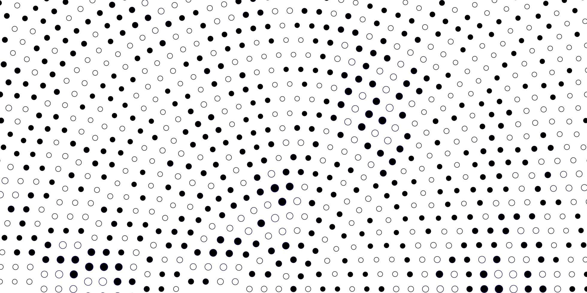 dunkelvioletter Vektorhintergrund mit Punkten. vektor