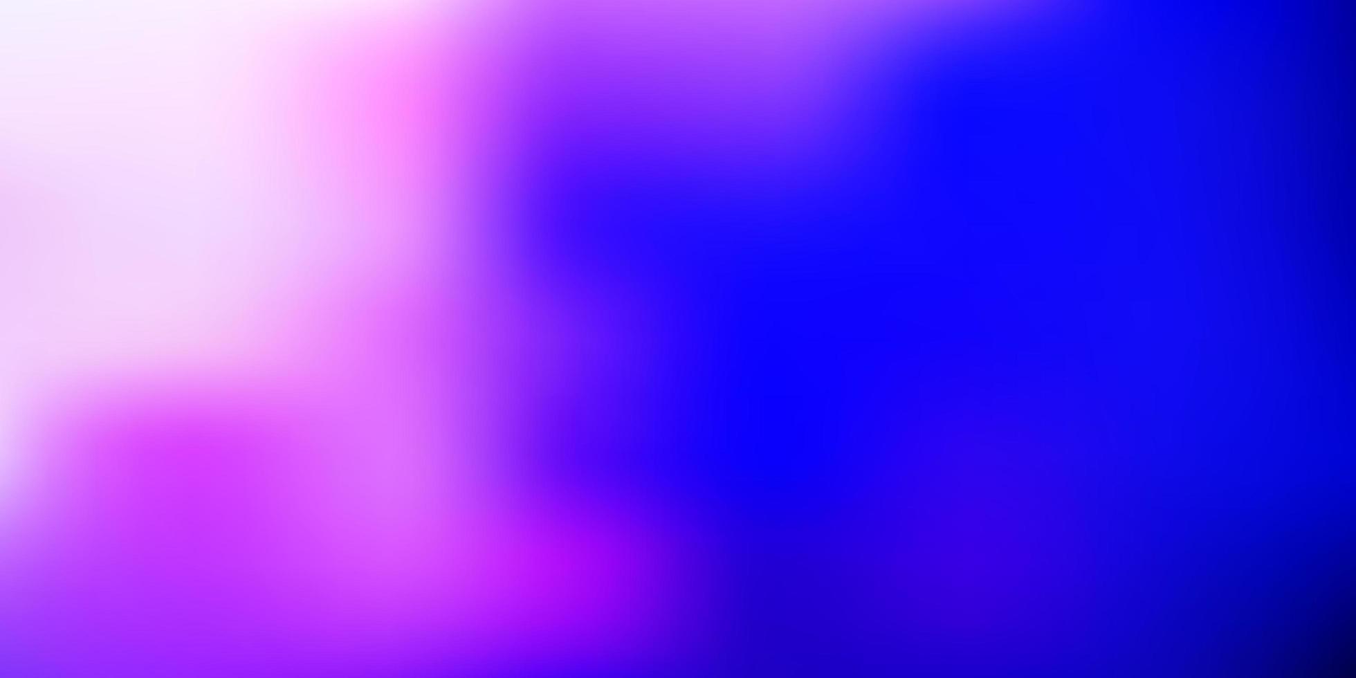 mörkrosa, blå vektor suddig bakgrund.
