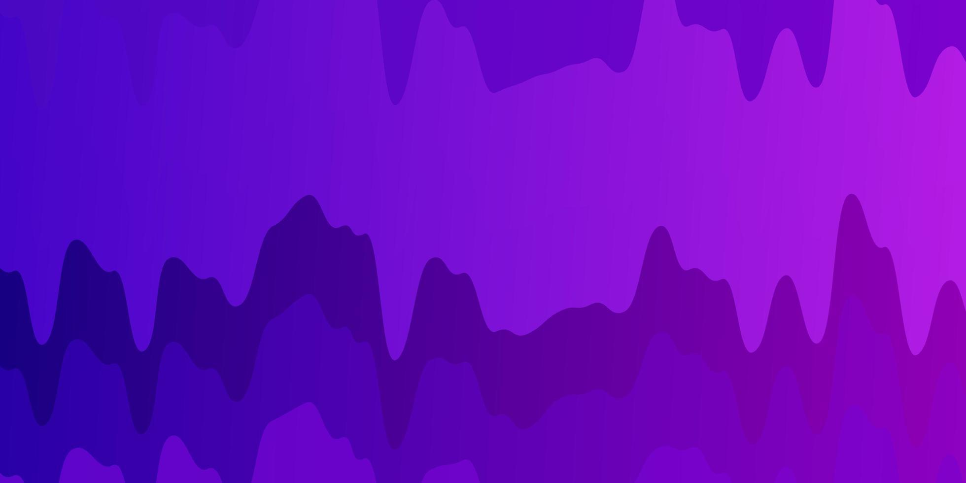 hellpurpurner, rosa Vektorhintergrund mit Kreisbogen. vektor
