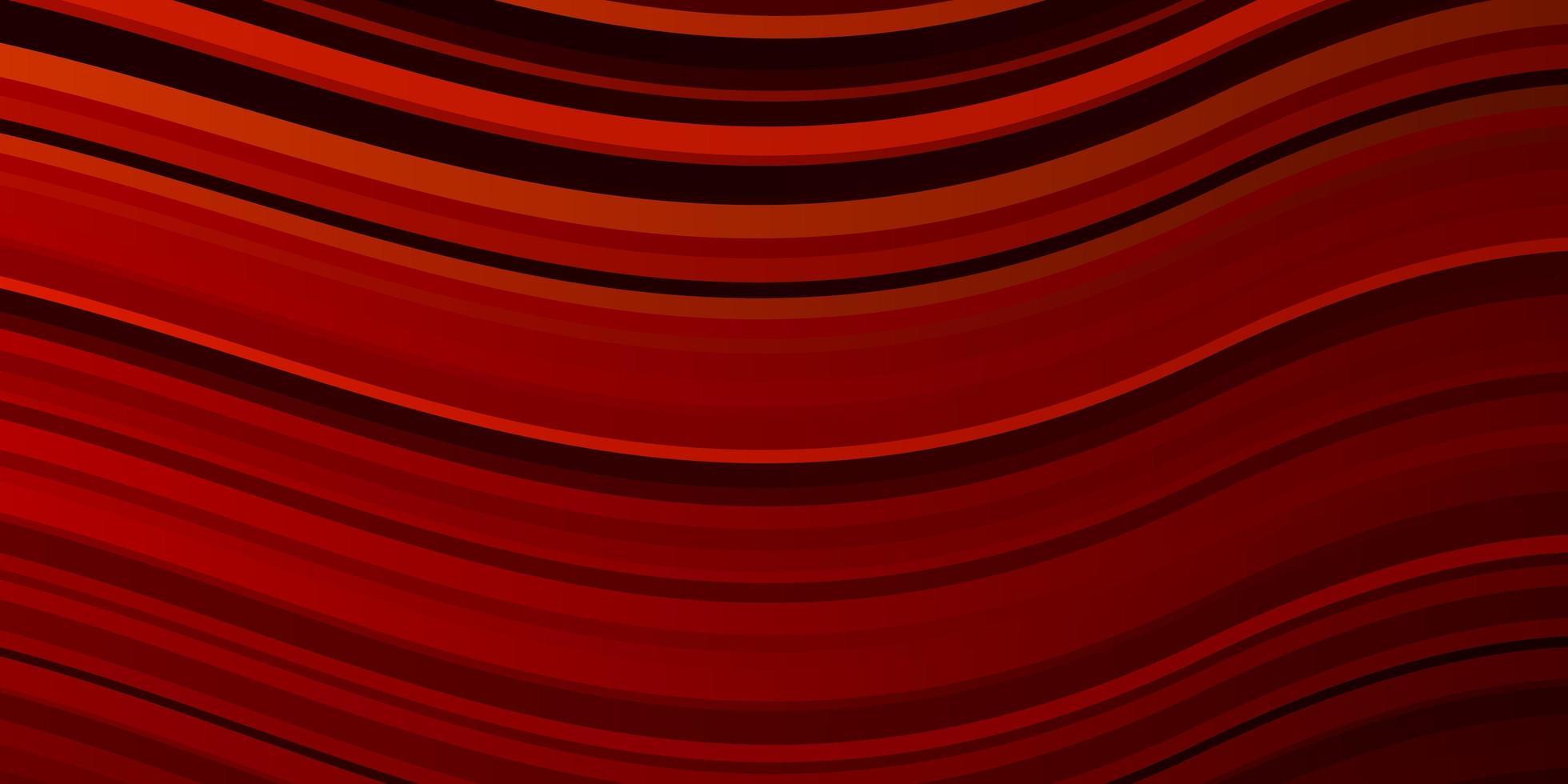 mörk röd vektor bakgrund med cirkulär båge.