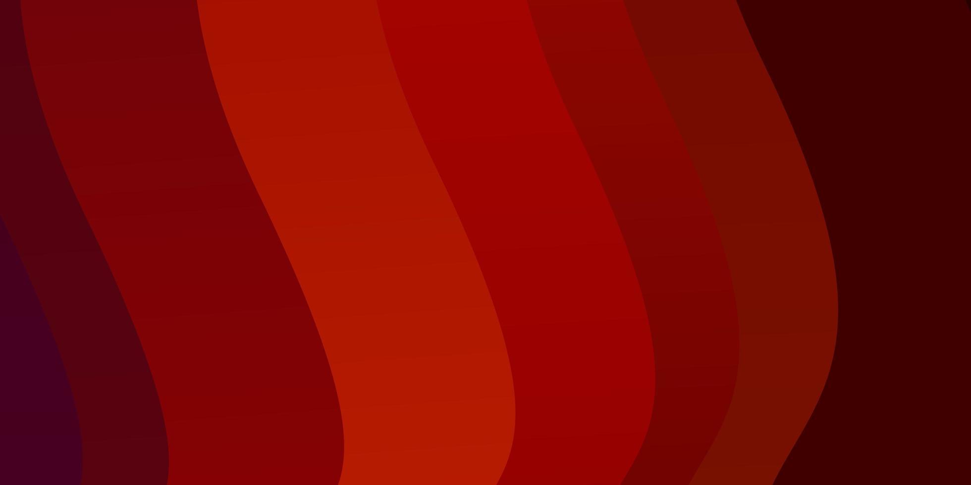dunkelroter Vektorhintergrund mit Bögen. vektor