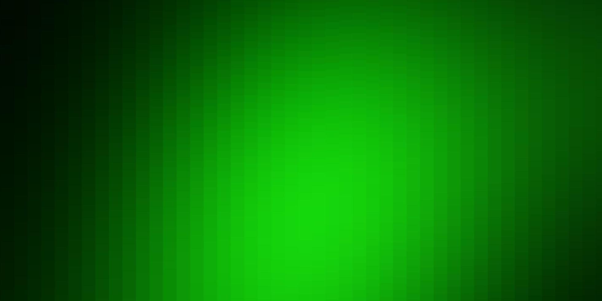 hellgrünes Vektorlayout mit Linien, Rechtecken. vektor