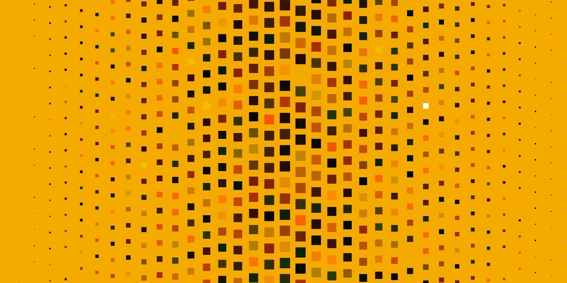dunkelgrüner, gelber Vektorhintergrund im polygonalen Stil. vektor