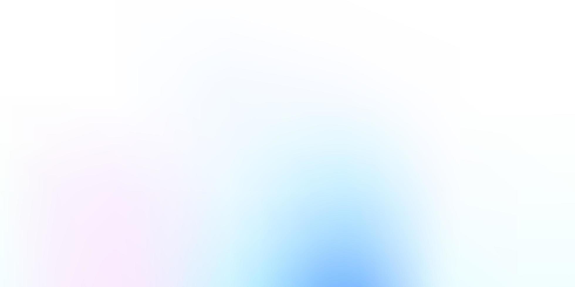 hellrosa, blauer Vektor unscharfer Hintergrund.