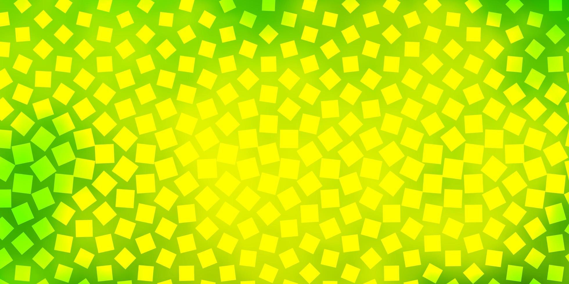 hellgrüner, gelber Vektorhintergrund im polygonalen Stil. vektor