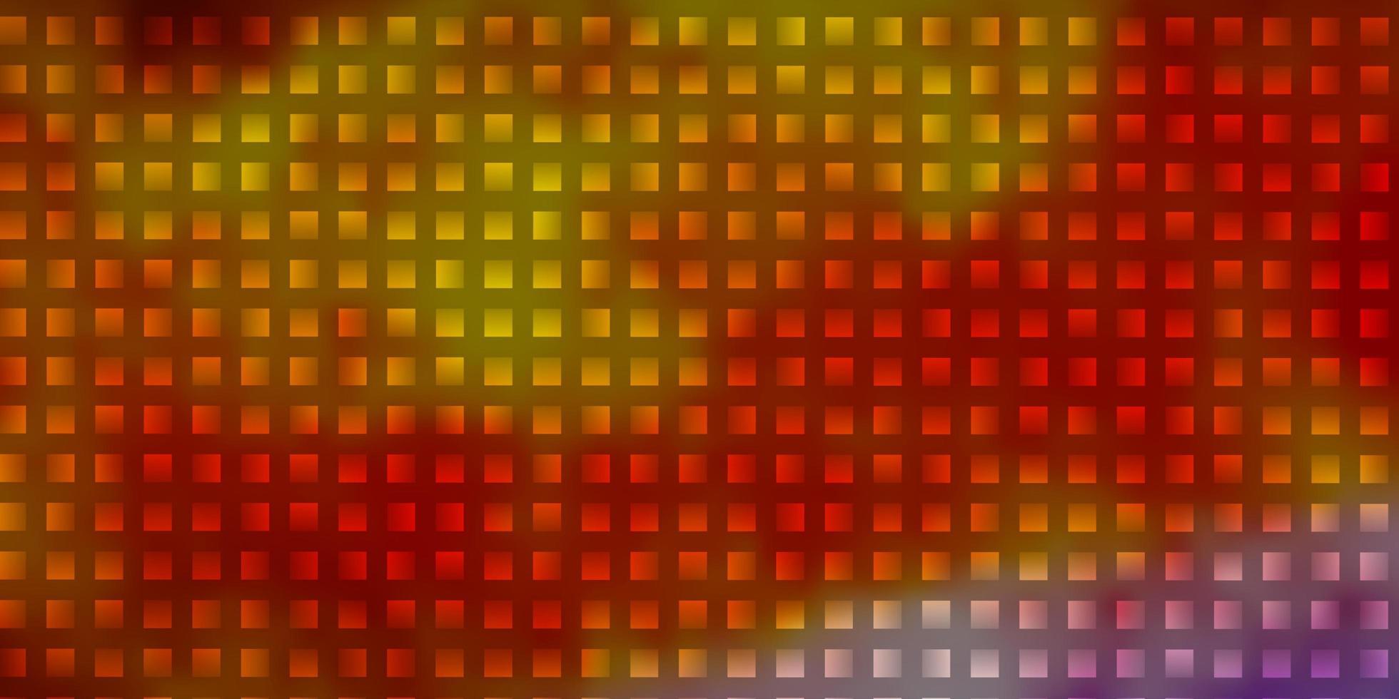 leichte mehrfarbige Vektorschablone mit Rechtecken. vektor