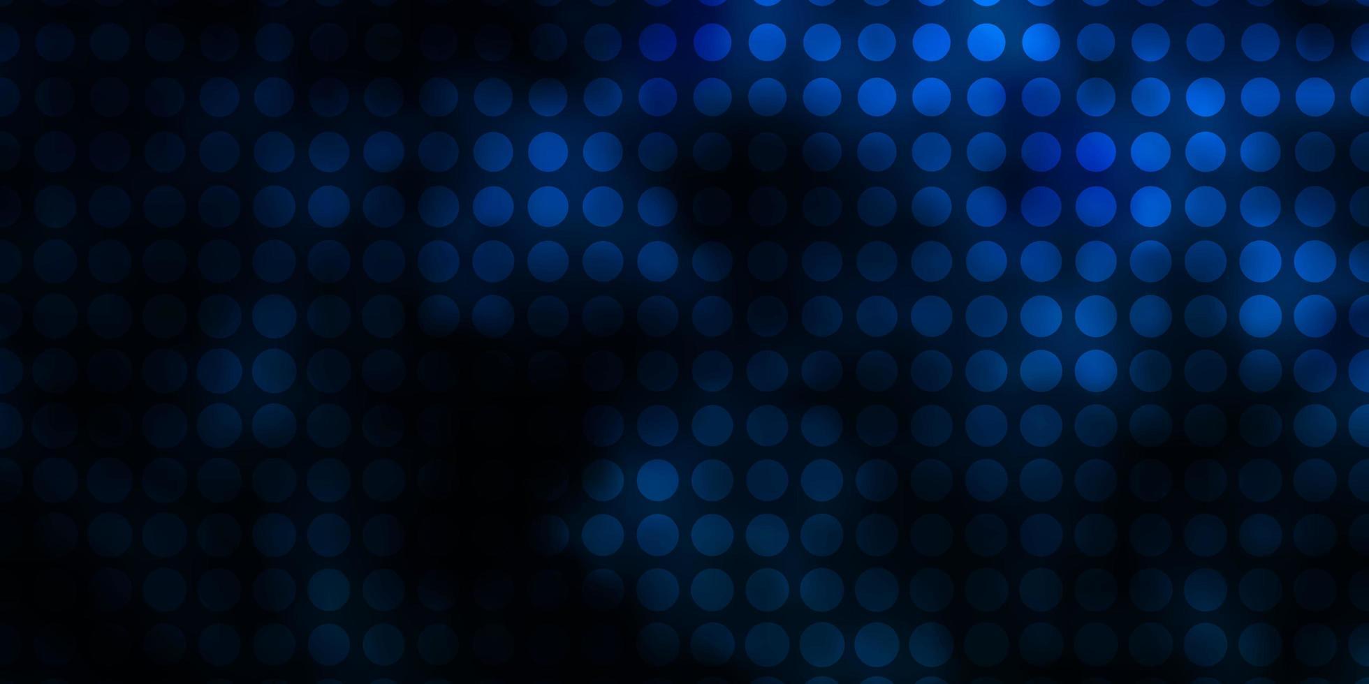 hellblauer Vektorhintergrund mit Kreisen. vektor