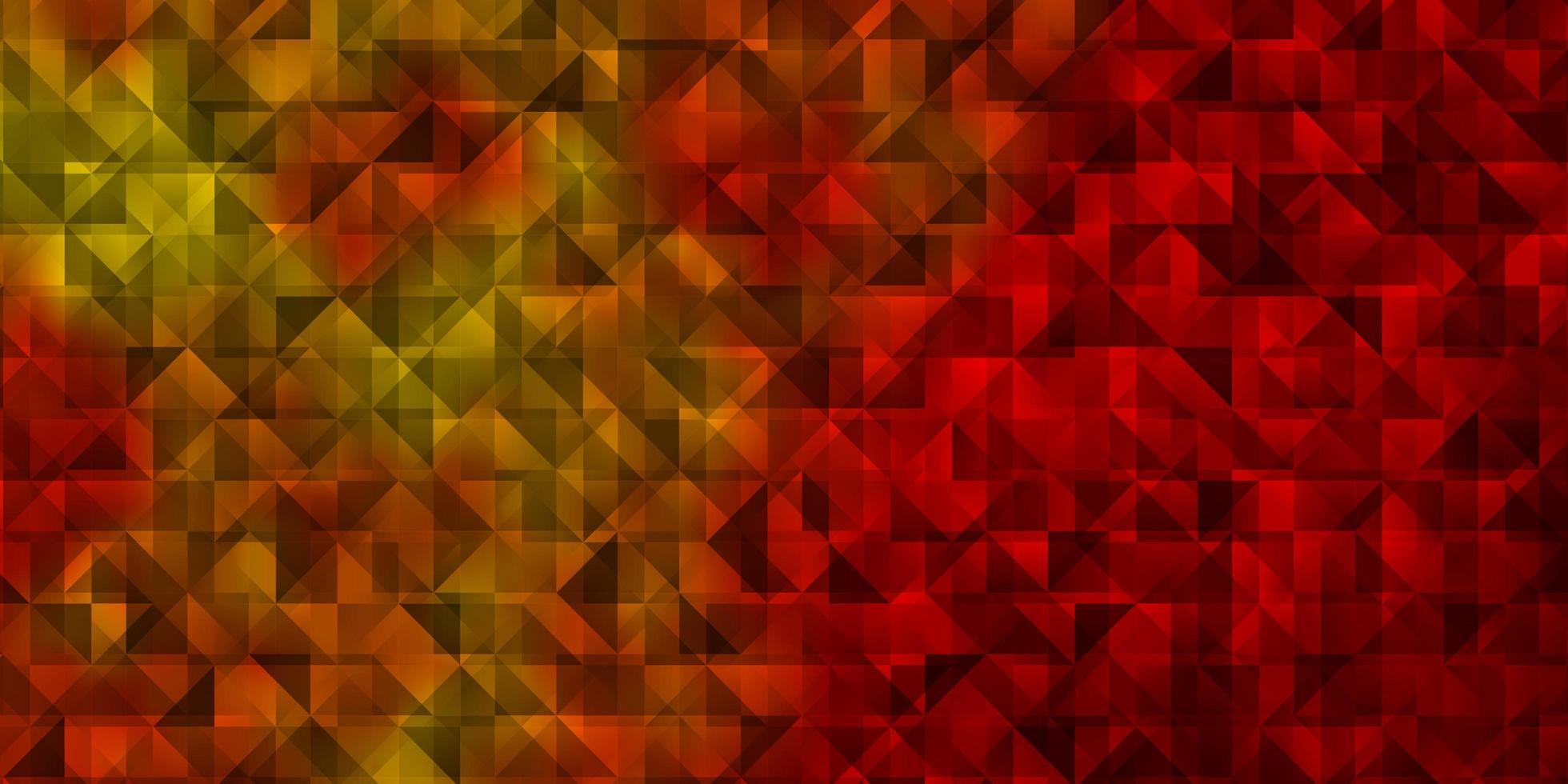 helloranger Vektorhintergrund mit Dreiecken. vektor
