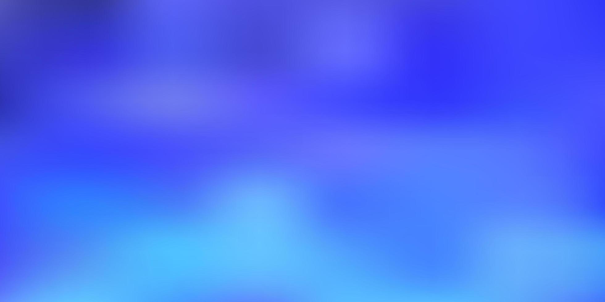 hellblauer Vektorverlauf verwischt Hintergrund. vektor