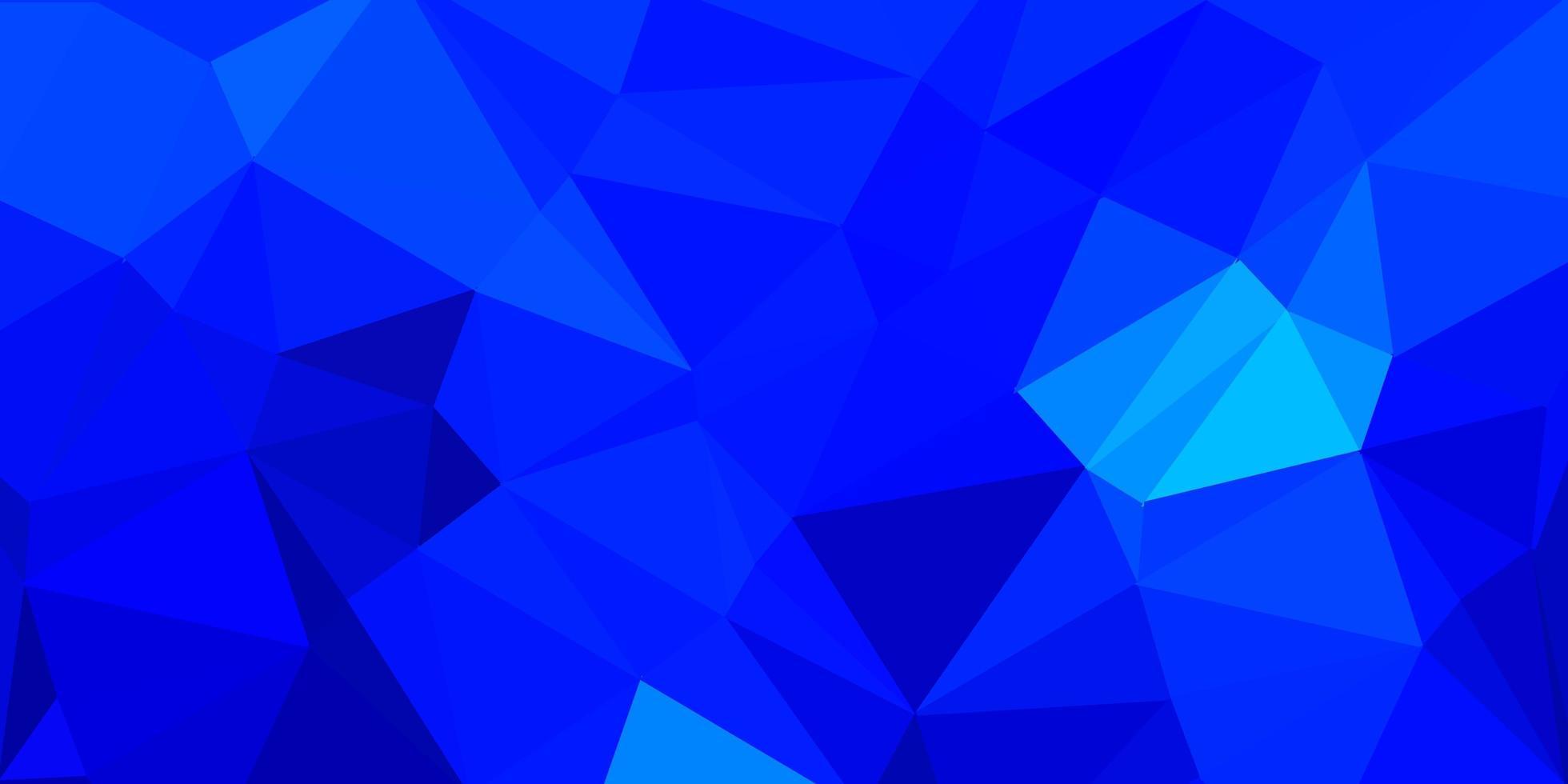 hellblaue Vektor-Gradienten-Polygon-Textur. vektor