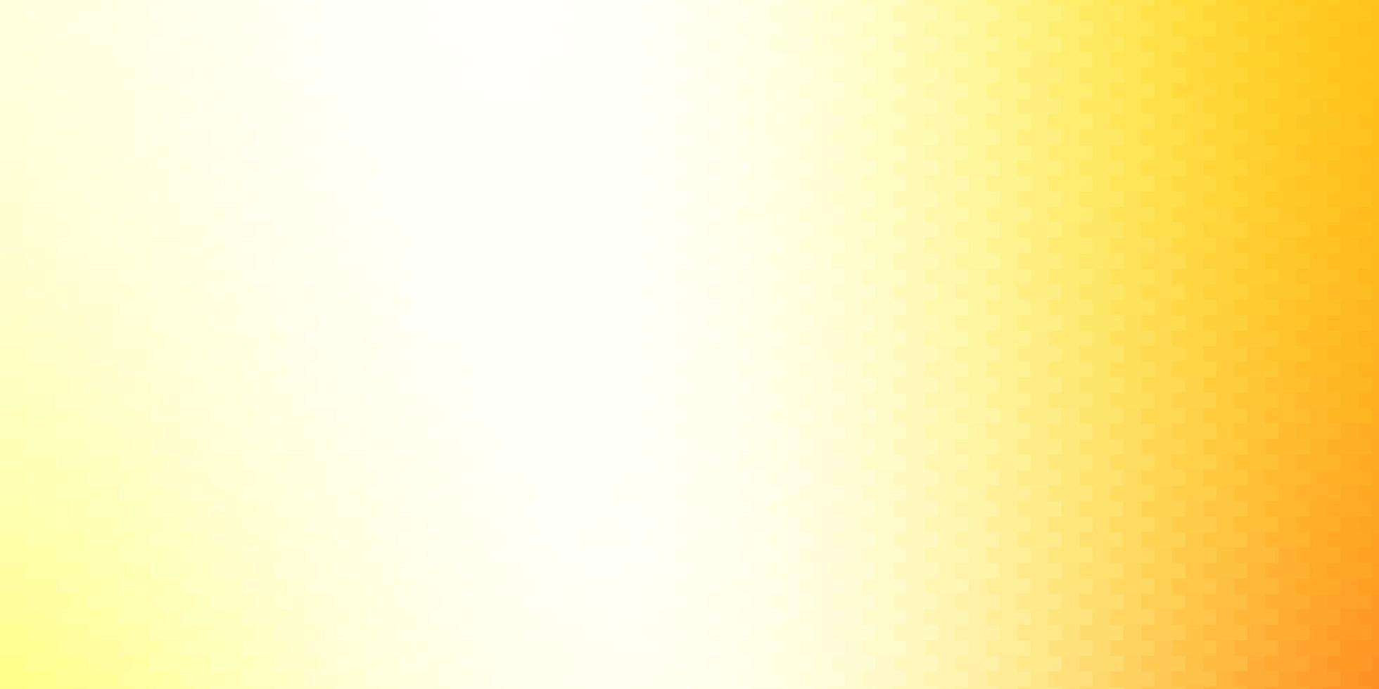 hellroter, gelber Vektorhintergrund mit Rechtecken. vektor