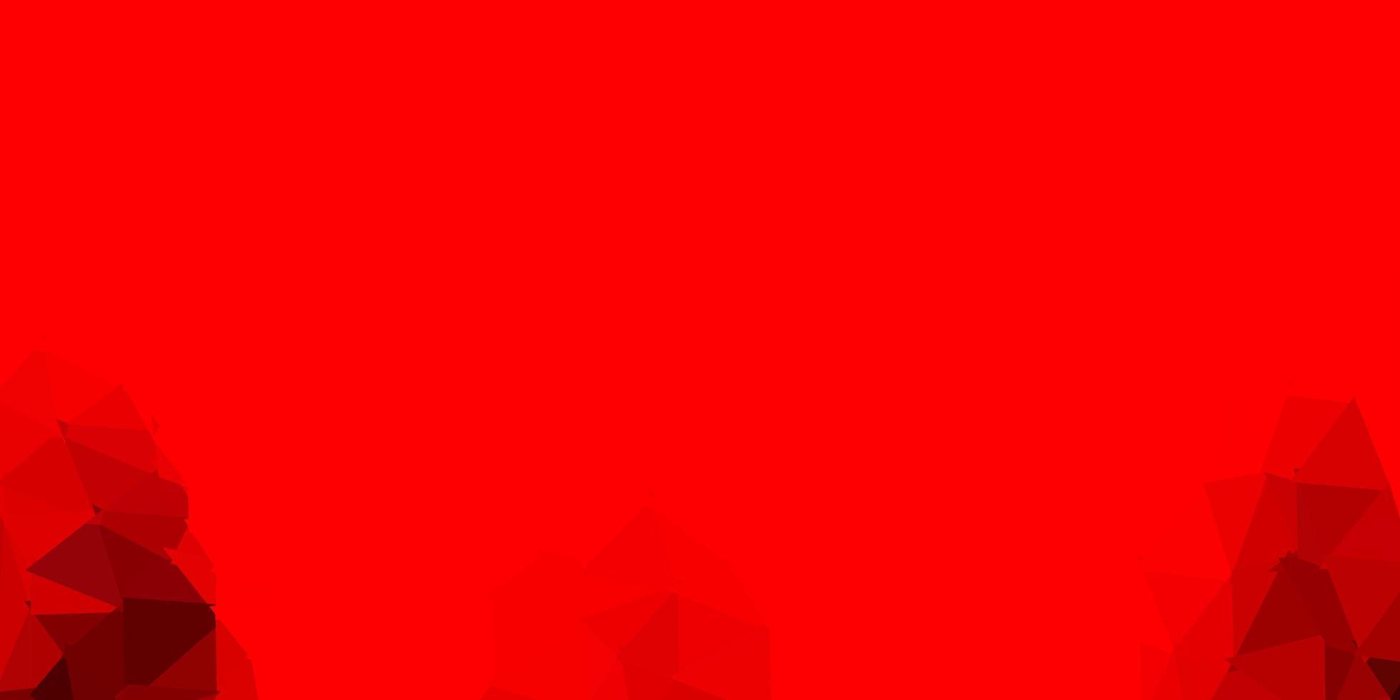 ljusröd vektor poly triangel konsistens.
