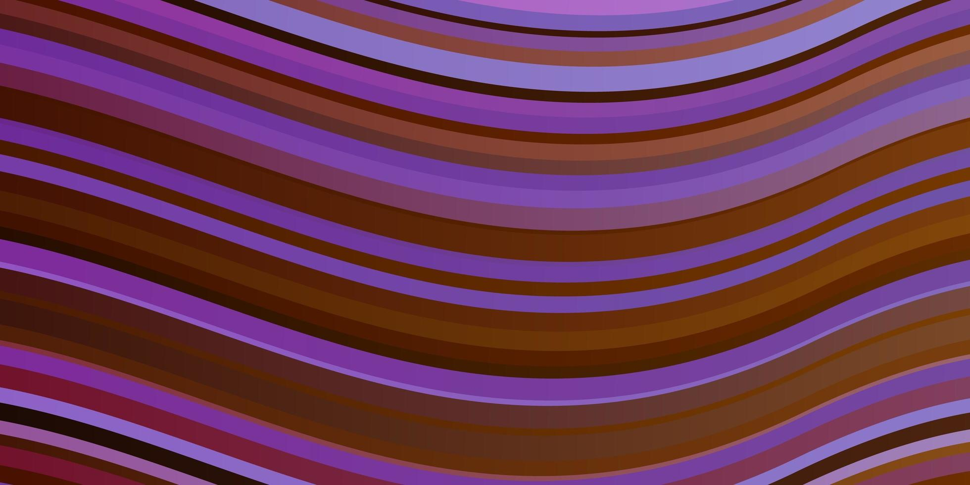 ljus flerfärgad vektorlayout med sneda linjer. vektor
