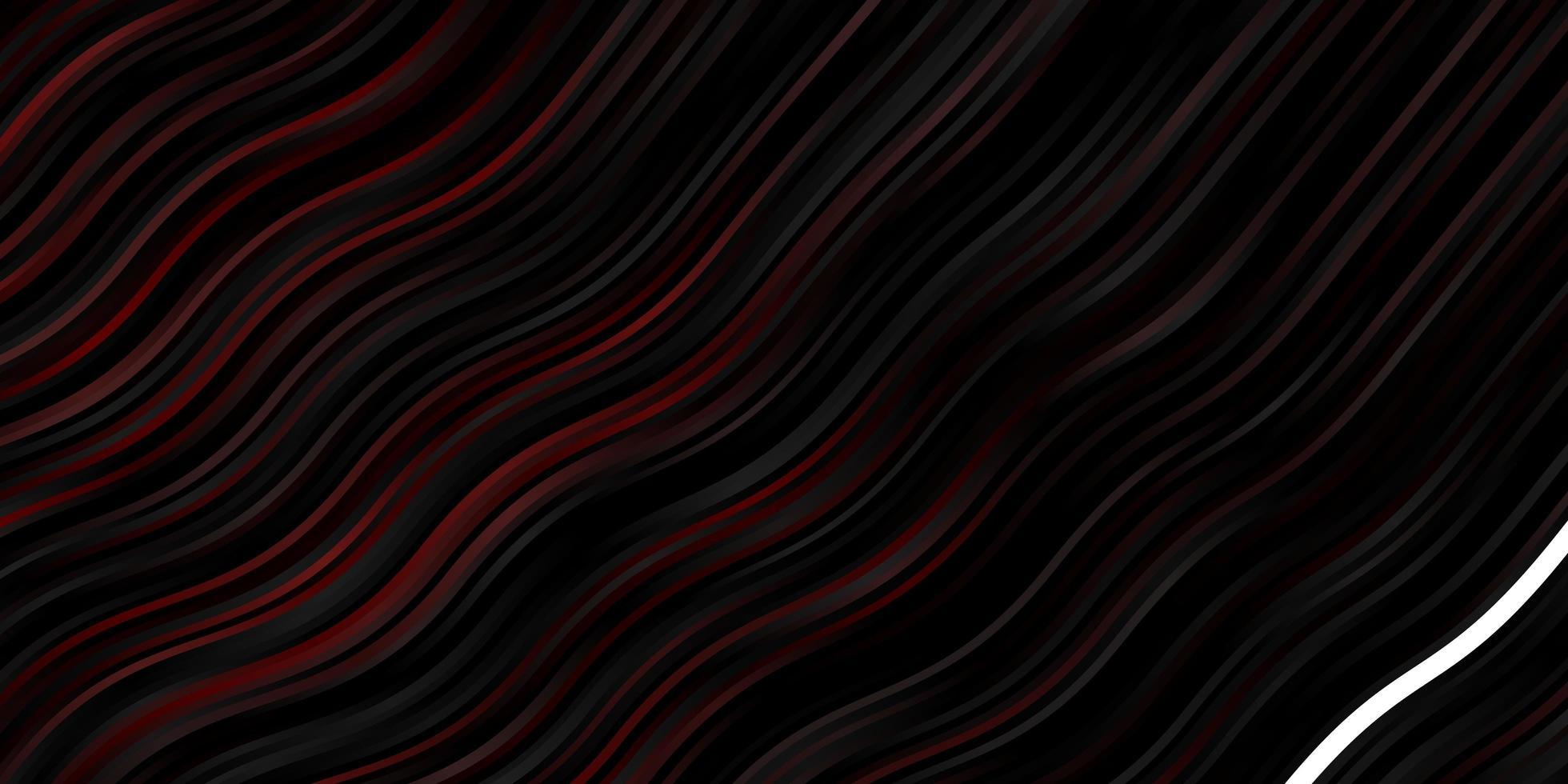 mörk röd vektor konsistens med kurvor
