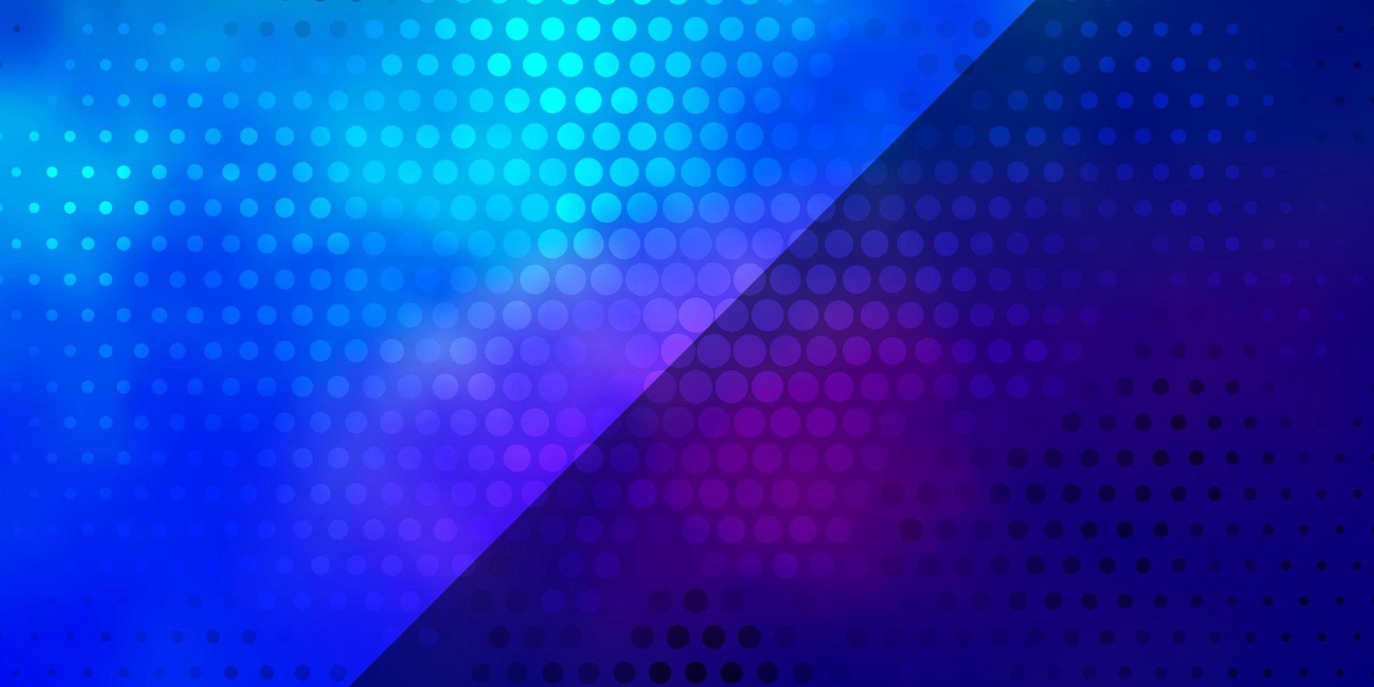 ljusblå, röd vektorstruktur med cirklar. vektor