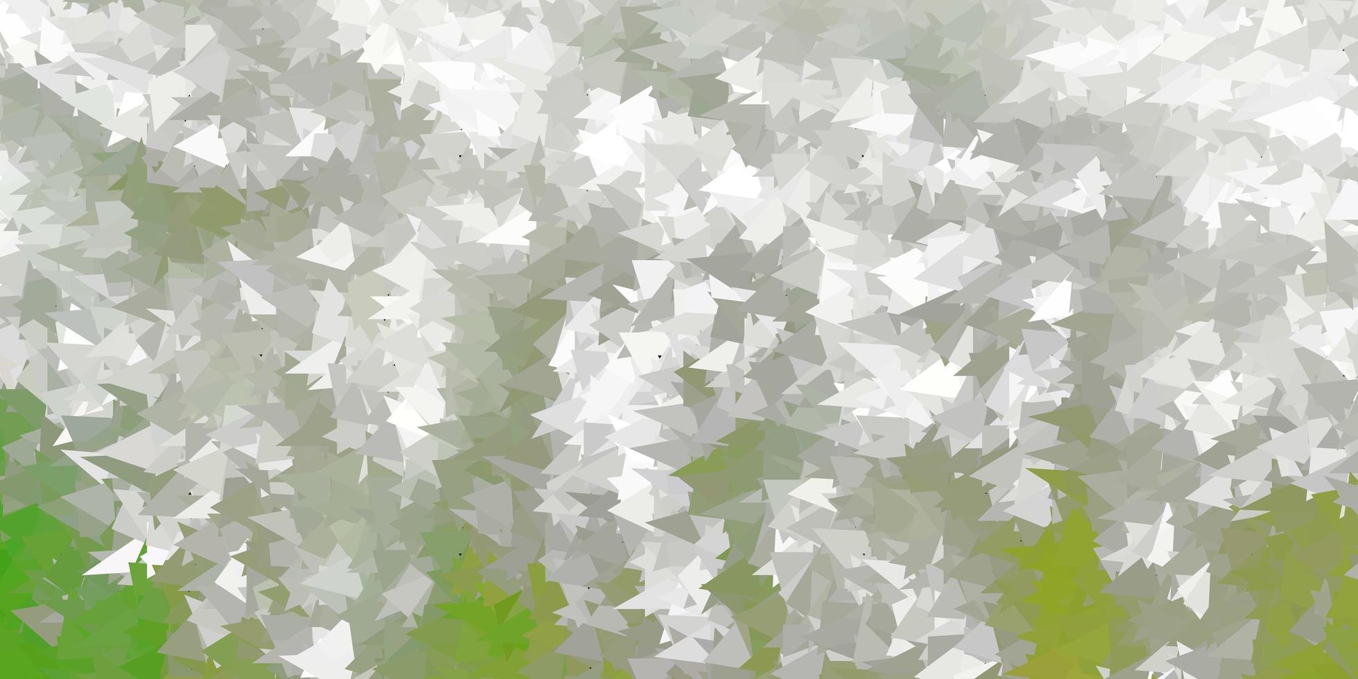 hellgraue Vektor Farbverlauf Polygon Tapete.