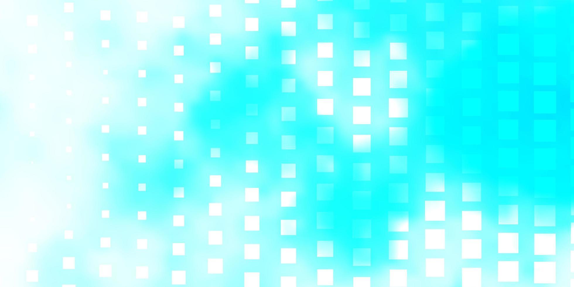 ljusblå vektor mönster i fyrkantig stil