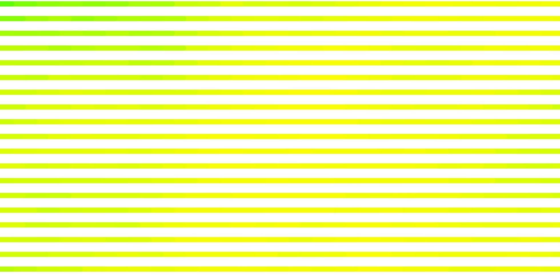 ljusgrön, gul vektor bakgrund med linjer.