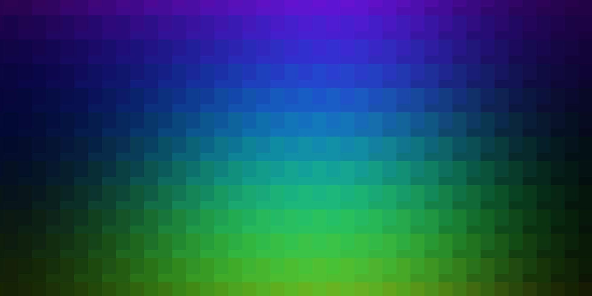 ljus flerfärgad vektorstruktur i rektangulär stil. vektor
