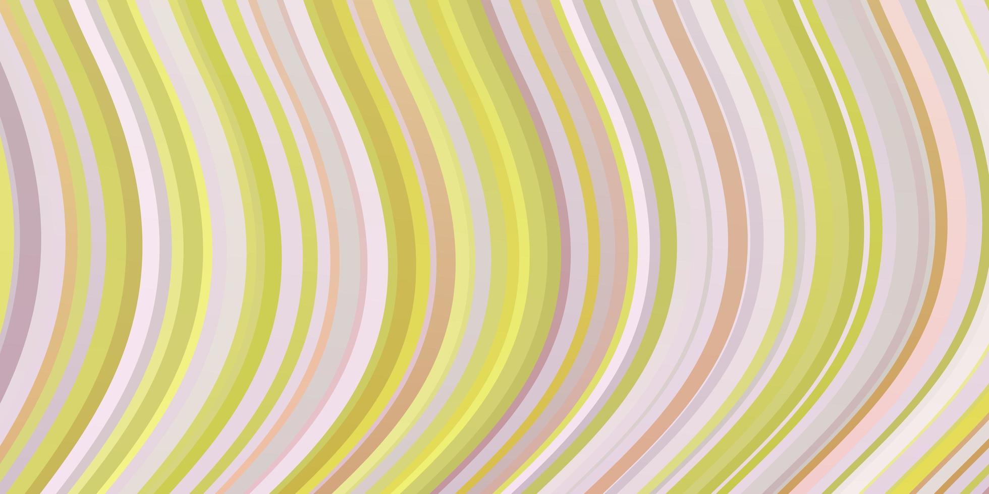 ljusrosa, gul vektorbakgrund med sneda linjer. vektor