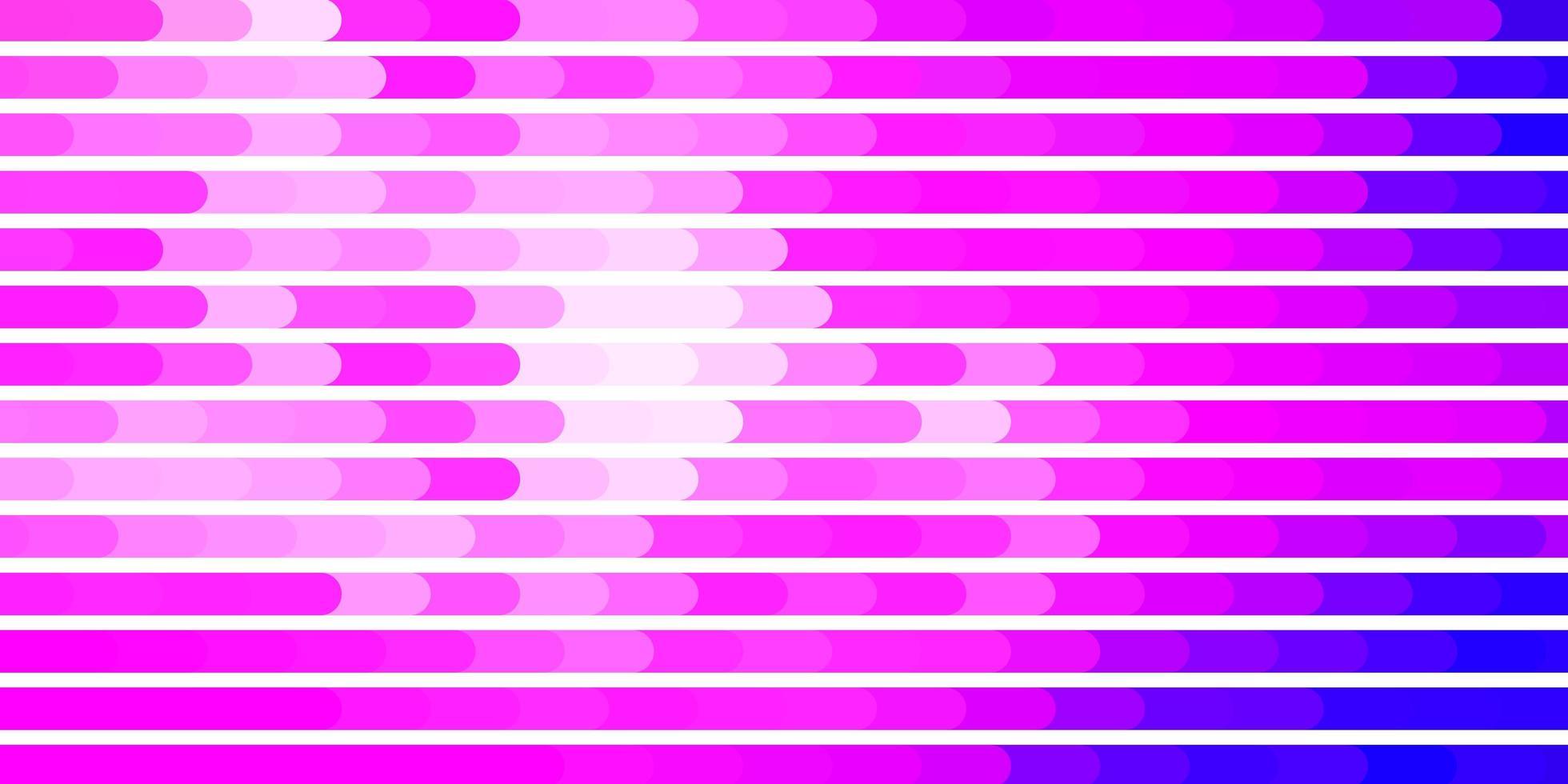 hellviolette, rosa Vektorschablone mit Linien. vektor