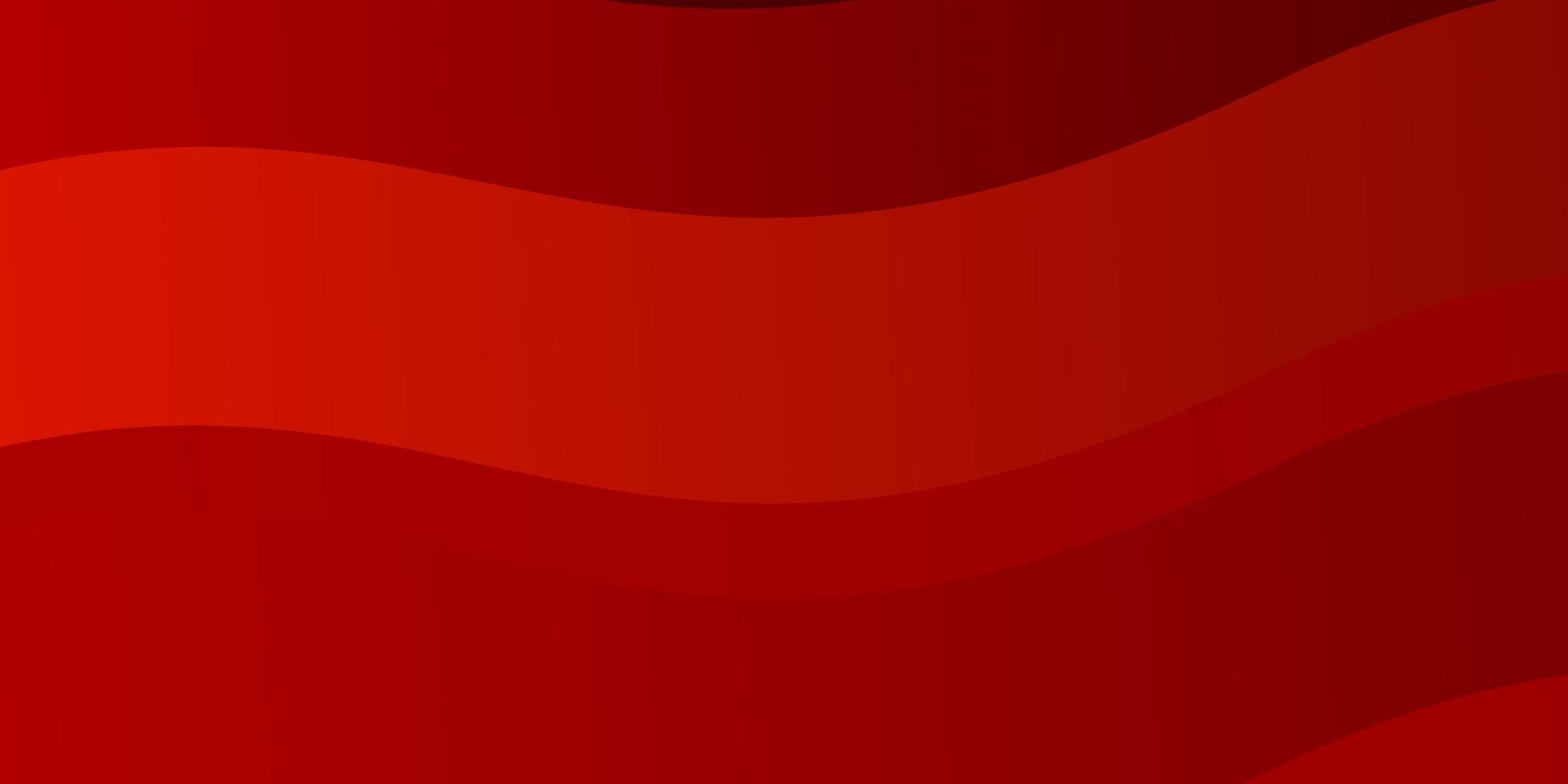 ljusrött vektormönster med linjer. vektor