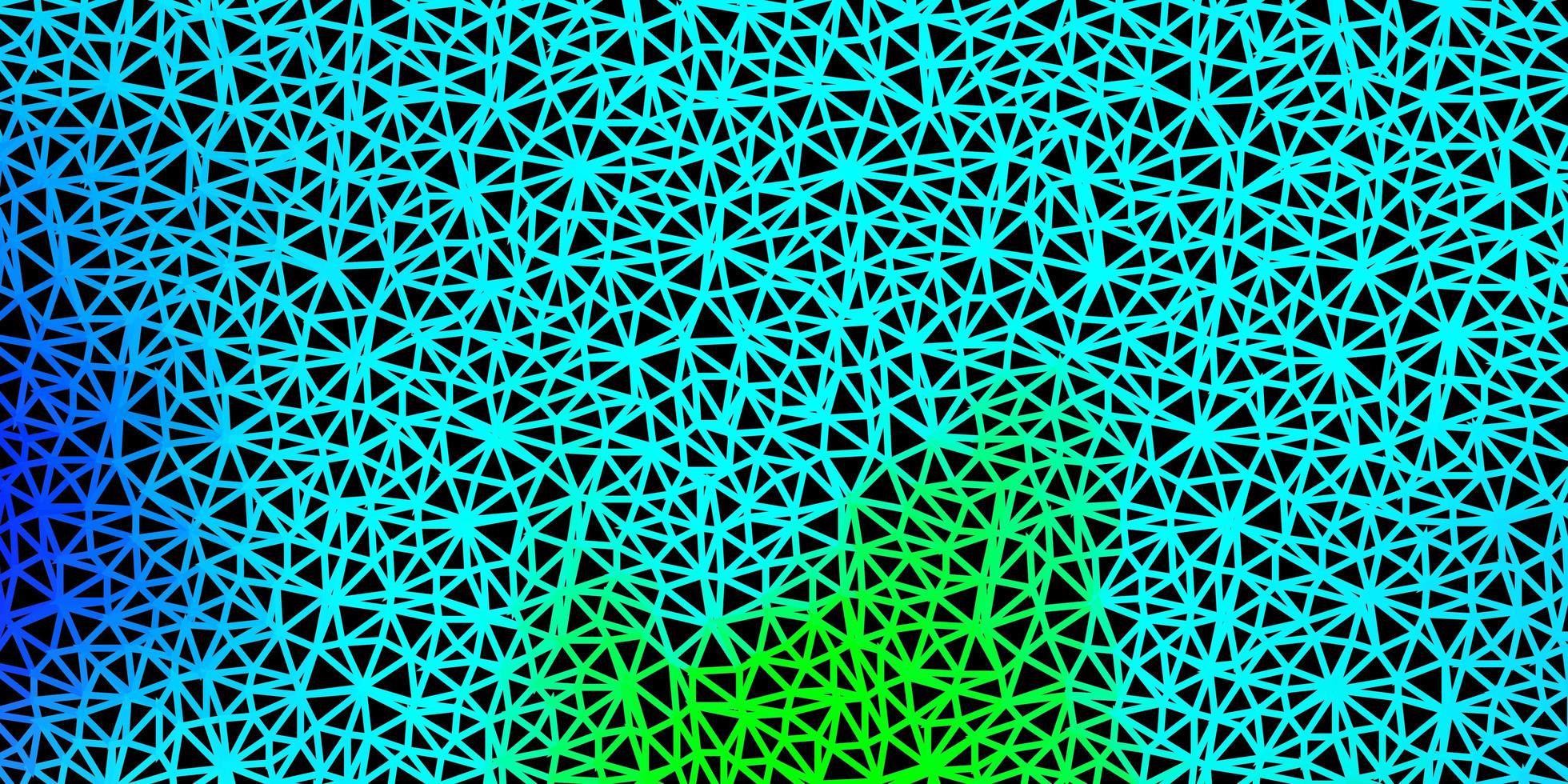 ljus flerfärgad vektor gradient polygon tapet.
