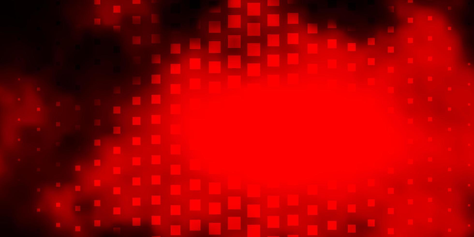 dunkelrotes Vektorlayout mit Linien, Rechtecken. vektor