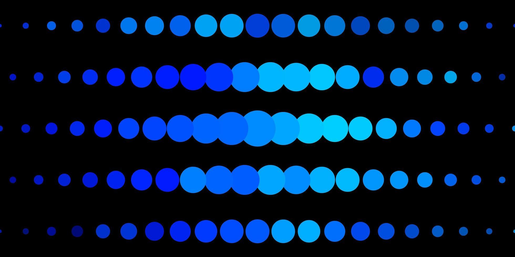 ljusblå vektor konsistens med cirklar