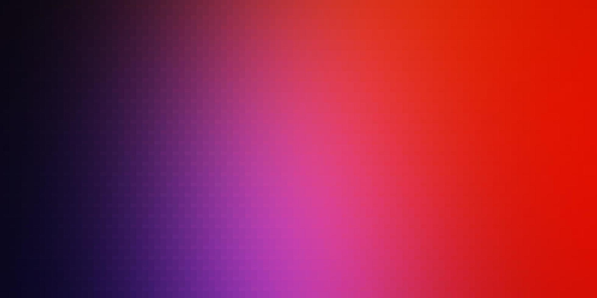 hellrosa, rote Vektorschablone in Rechtecken. vektor