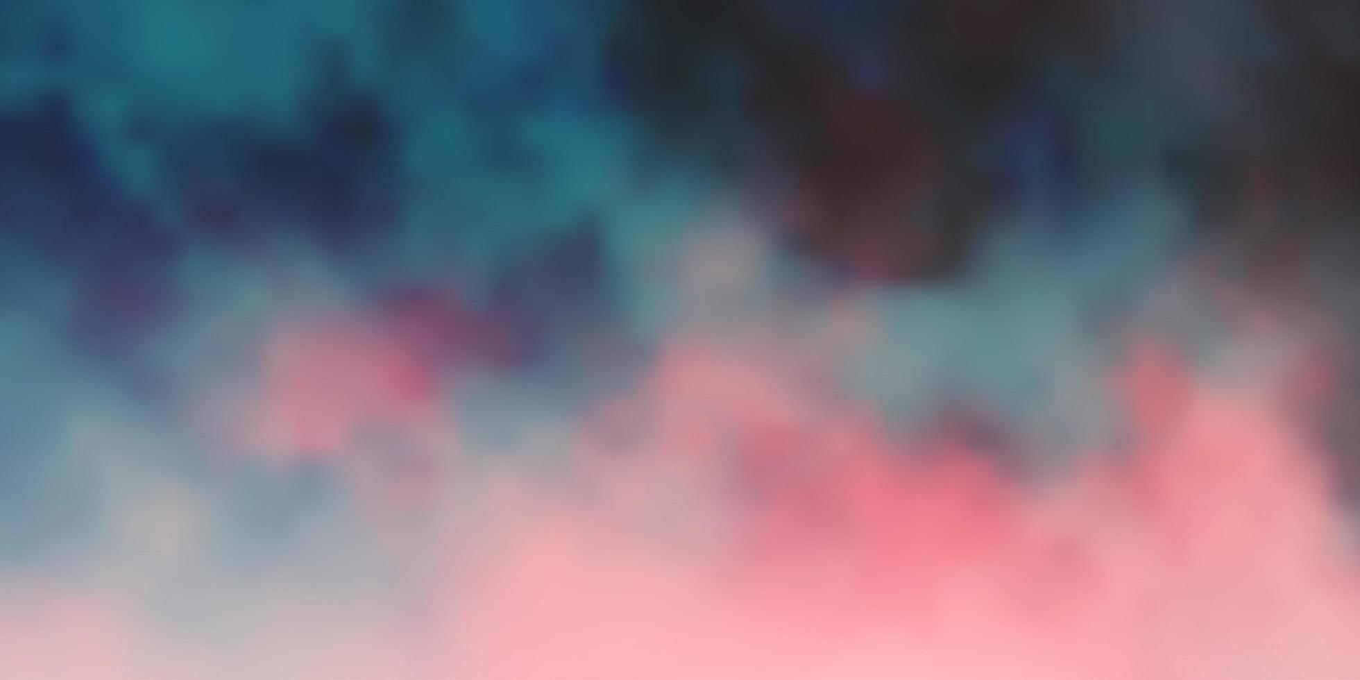 dunkelrotes Vektorlayout mit Wolkenlandschaft. vektor
