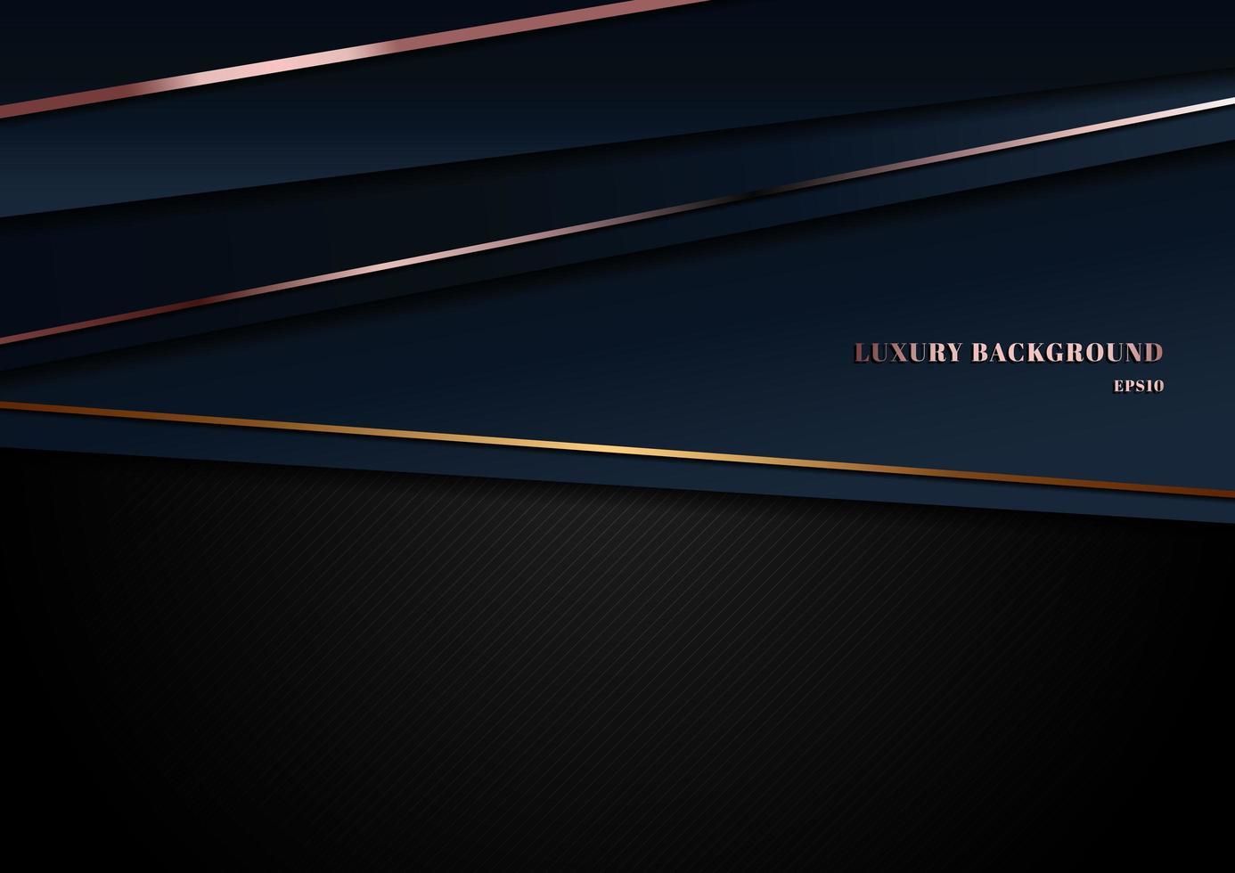 abstrakte Vorlage dunkelblau Luxus Premium Hintergrund vektor