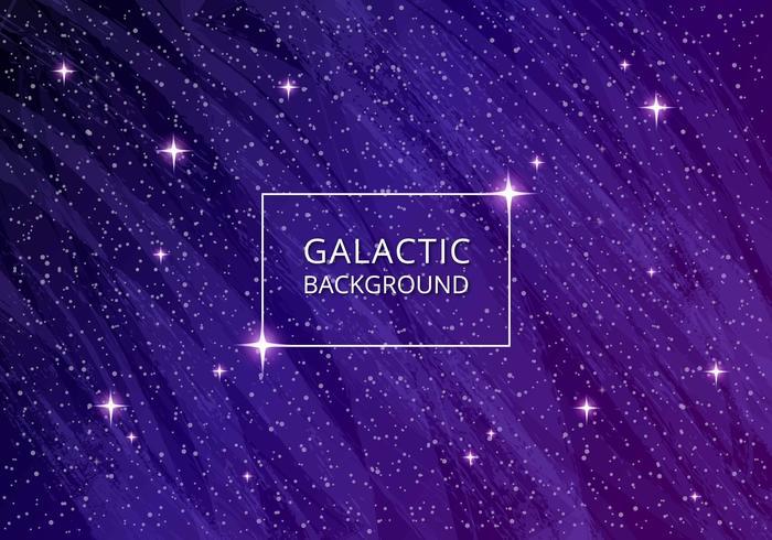 Ultravioletter galaktischer Hintergrund vektor