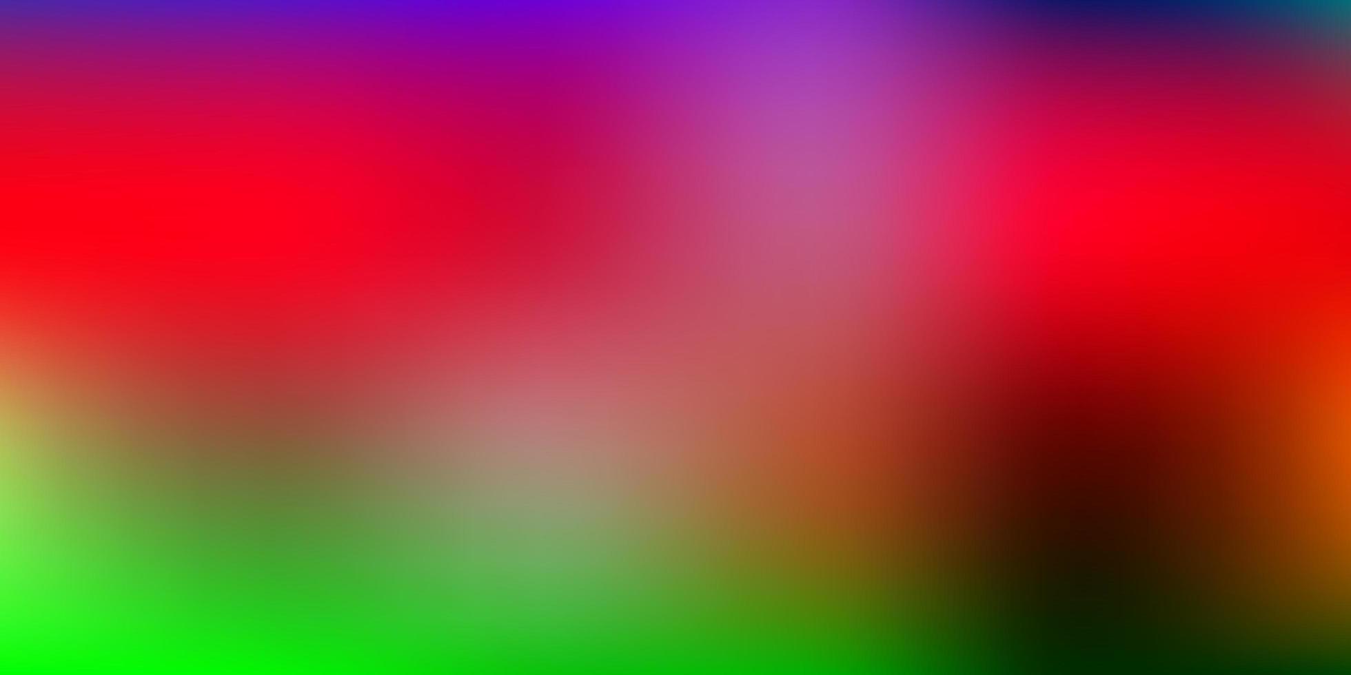 hellrosa, grüne Vektorverlaufsunschärfezeichnung. vektor