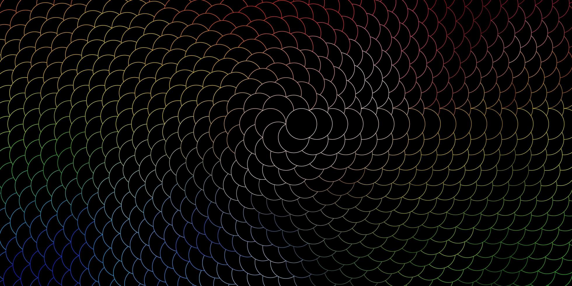 mörk flerfärgad vektorstruktur med skivor. vektor