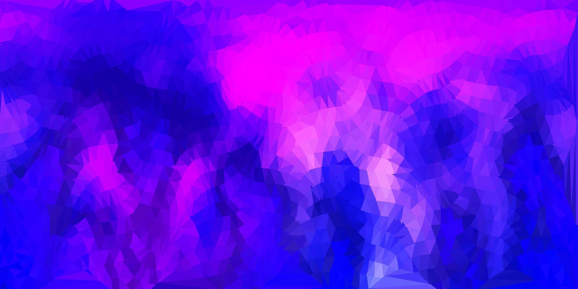 geometrisches polygonales Design des dunkelvioletten, rosa Vektors. vektor