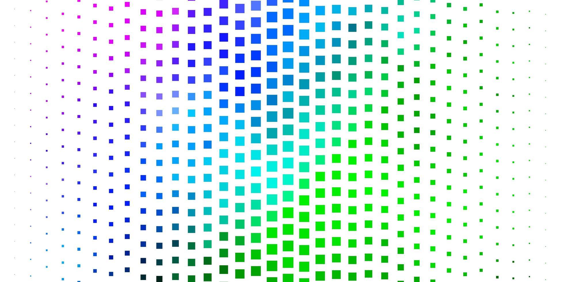 hellrosa, grüner Vektorhintergrund im polygonalen Stil. vektor