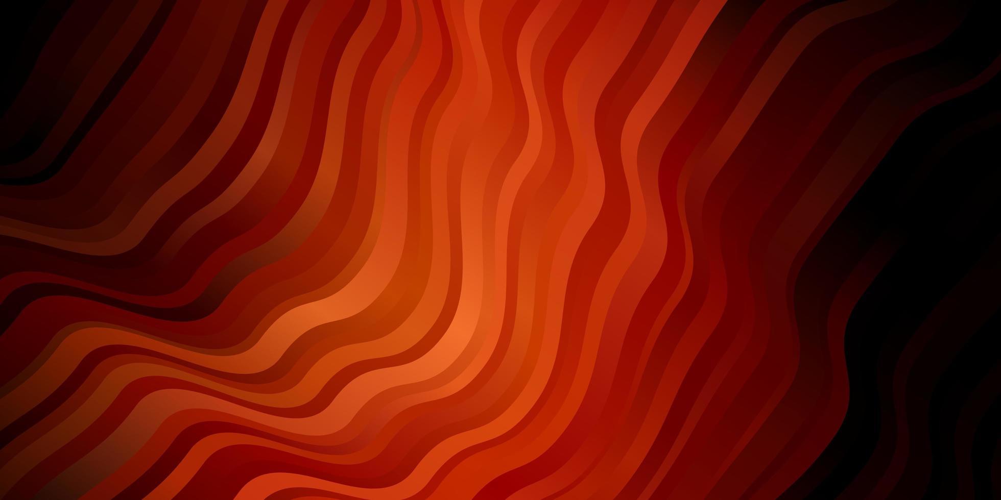 dunkelroter Vektorhintergrund mit trockenen Linien. vektor