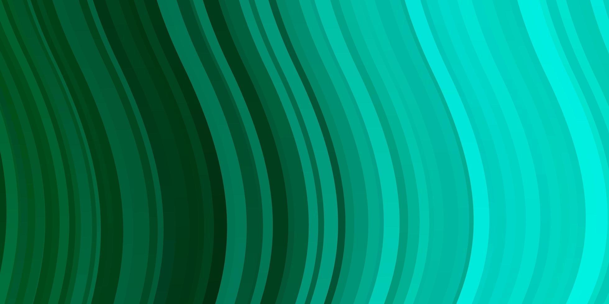 hellgrüner Vektorhintergrund mit Kreisbogen. vektor