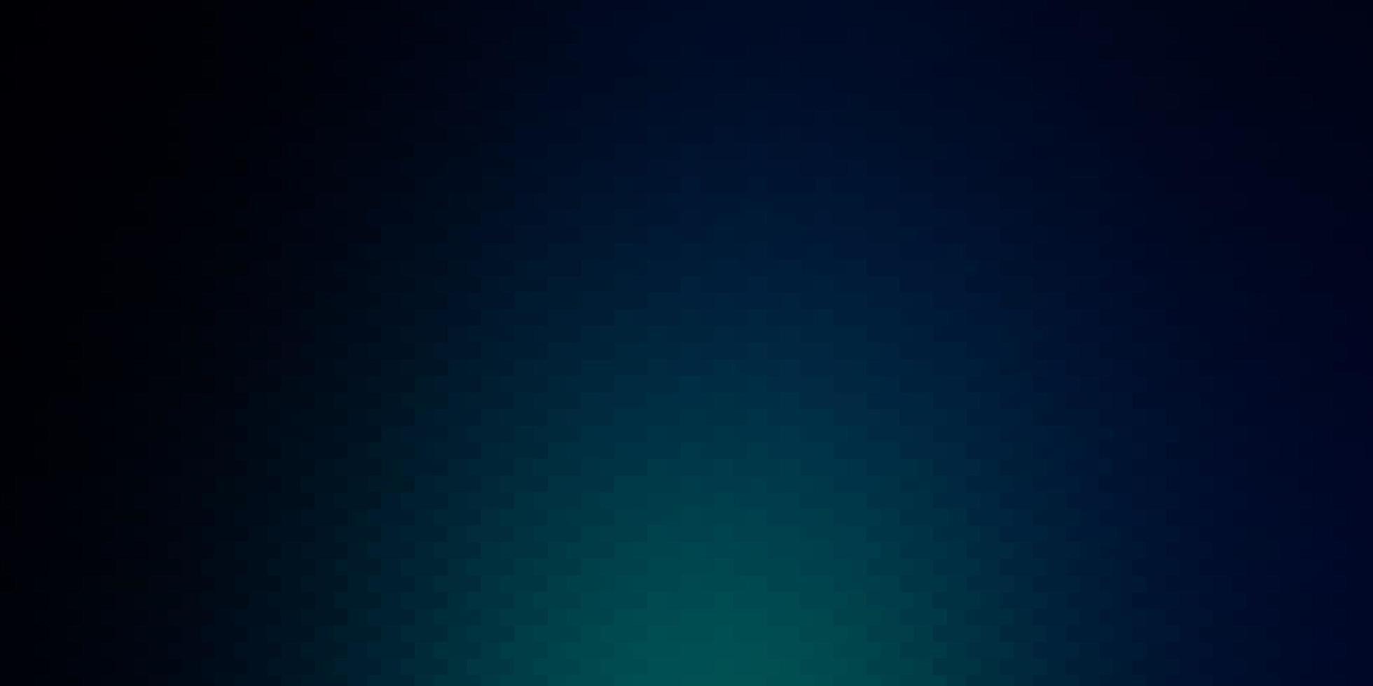 dunkelblauer Vektorhintergrund mit Rechtecken vektor