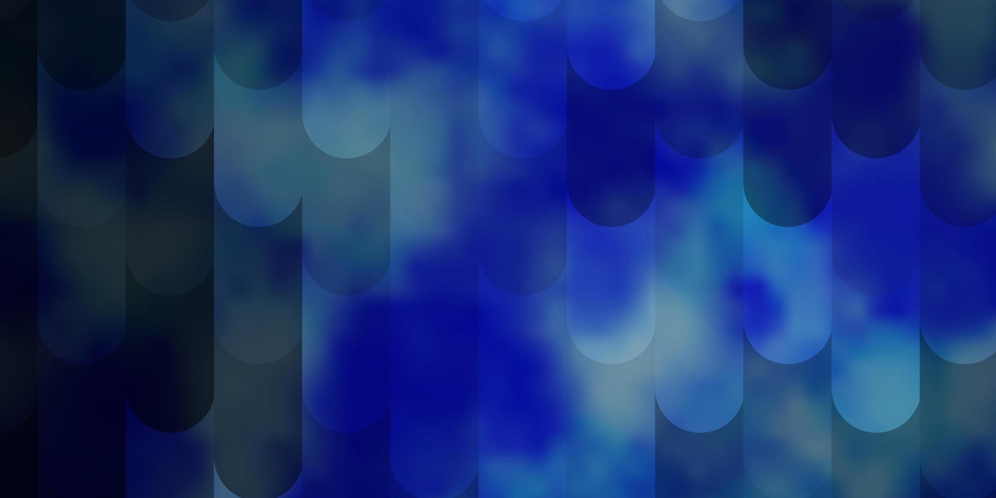 hellblaues Vektormuster mit Linien. vektor