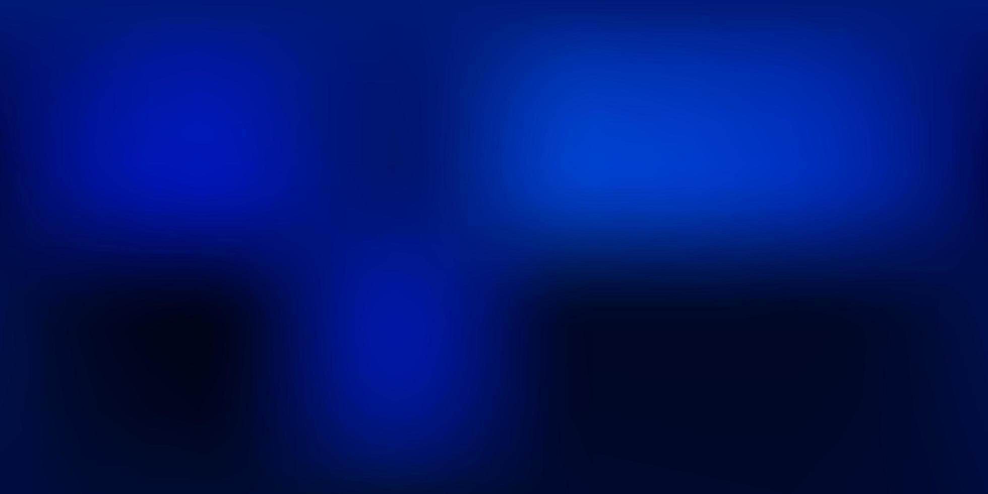 mörkblå vektor suddig bakgrund.