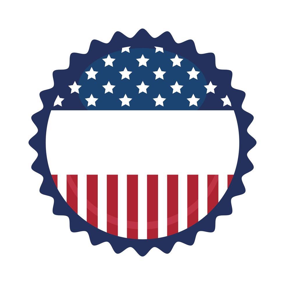 USA Siegelstempel Vektor Design