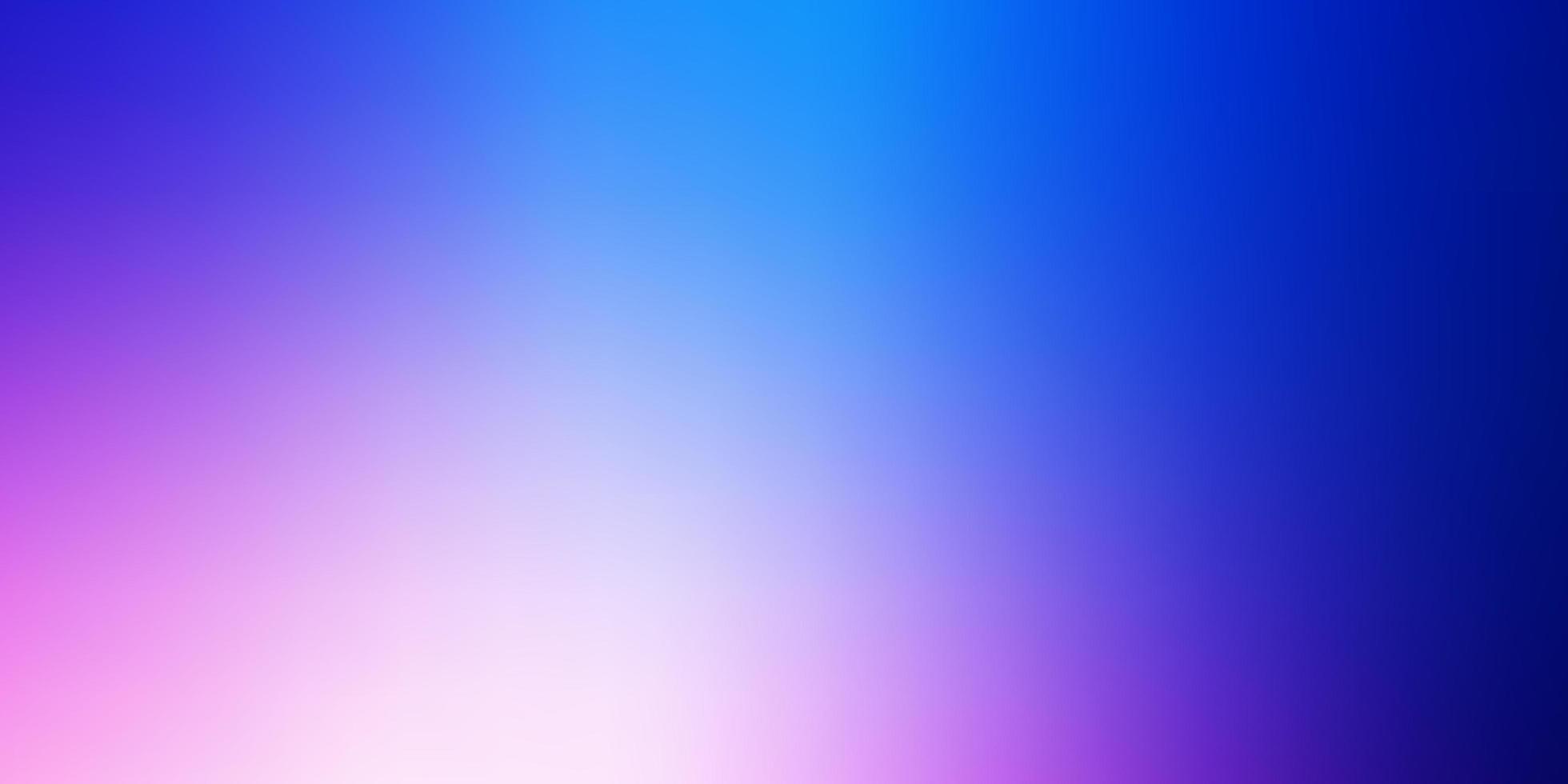 ljusrosa, blå vektor suddig färgglatt mönster.
