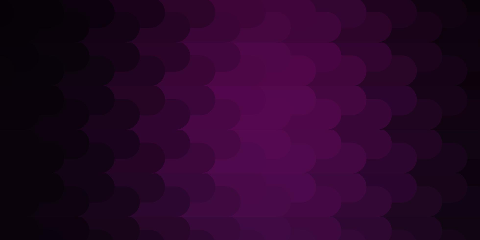 dunkelrosa Vektorlayout mit Linien. vektor