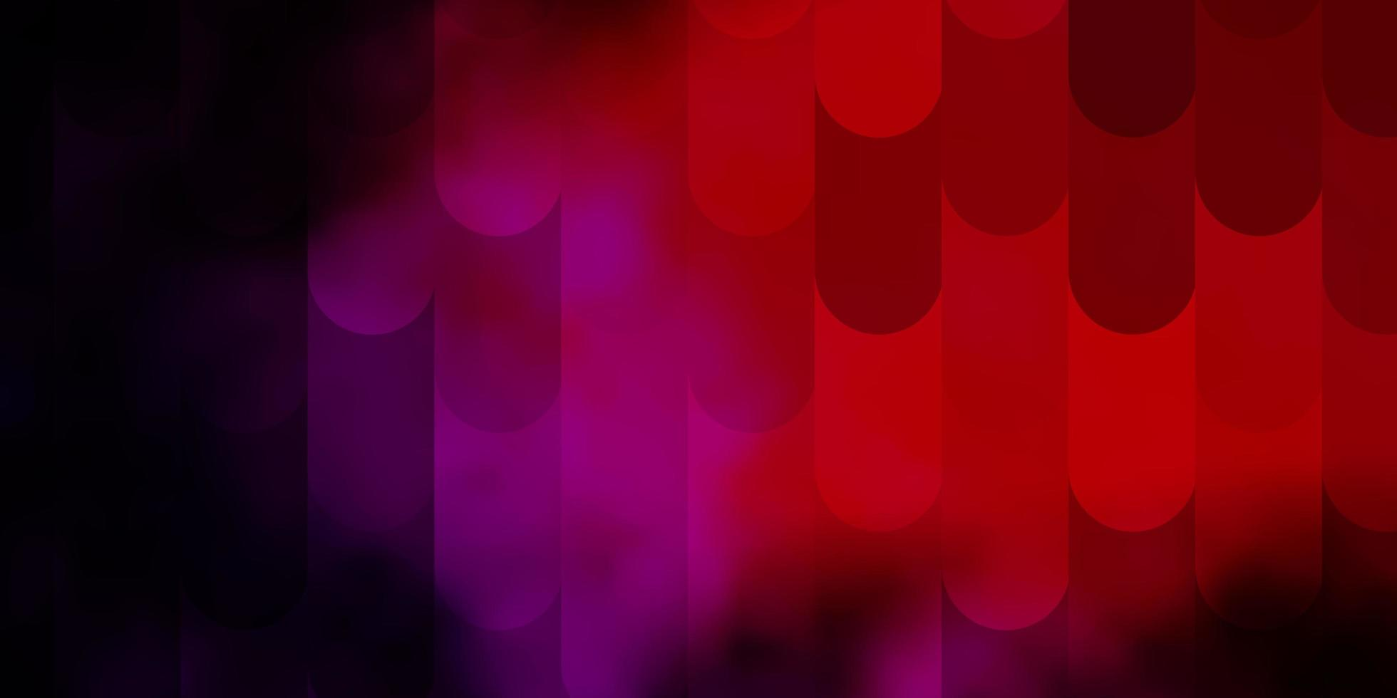 dunkelrosa, rotes Vektorlayout mit Linien. vektor
