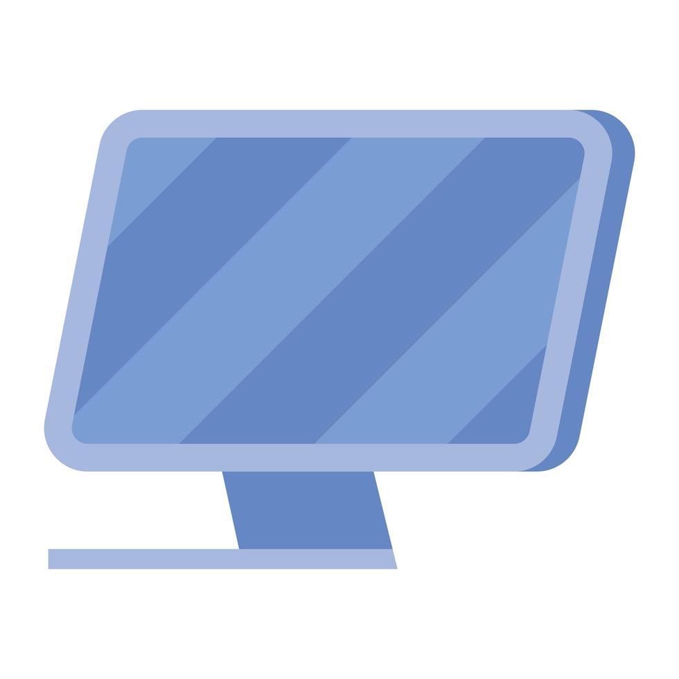 Digital Computer Icon Vektor Design