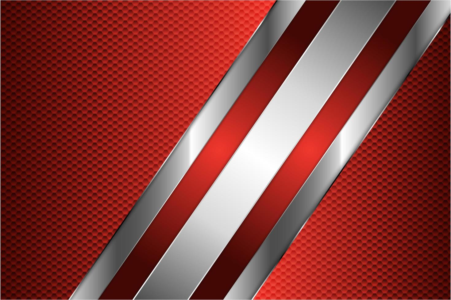 roter metallischer Hintergrund vektor